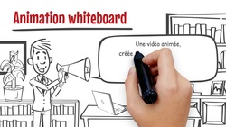 Explication sur l'animation Whiteboard.